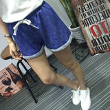 2016 New Summer Casual Cotton Black Running Short High Waist Shorts Femininos Women Workout Shorts Plus Size
