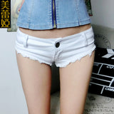 2016 womens summer woman ripped denim hotpants female sexy jeans booty shorts lady night club hot bottom femme micro mini shorts