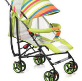 New Design Rainbow Foldable High Quality Luxury Baby Stroller 3 in 1 , Stroller Carry Bag, 3 Color Four Wheels Single Seat BS003
