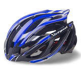 New Sport Bicycle Helmets Ultralight Unisex Breathable Mountain Road Bike Helmet Night Light Cycling Helmet H1002