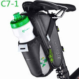 ROCKBROS Outdoor Cycling Mountain Bike Back Seat Bicycle Rear Bag Nylon Bike Saddle Bag Bicycle Accessories Tail Pouch Package