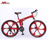 21 Speed mountain bike complete A1 folding bicycle 26inch black supplier bikes Magnesium alloy wheels road bikes for 160-185cm