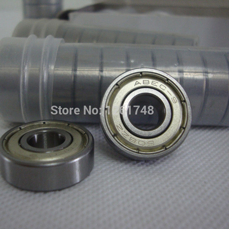 10 Pcs ABEC-9 608 8*22*7mm Bearing with Dual-side Dustproof Cover Bearings for Inline Roller Skates Patines Scooter Skateboard - Blobimports.com