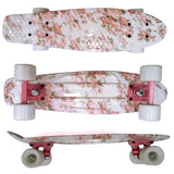 "8 Choices New Style Outdoor Retro Skateboards Mini Board Complete 22"" Plastic Board Free Shipping"