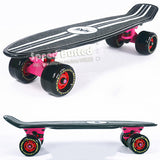 "72MM big wheels Peny Board 22"" Skateboard Complete Backpack mini skate long board griptape Retro Cruiser patins adulto longboard"
