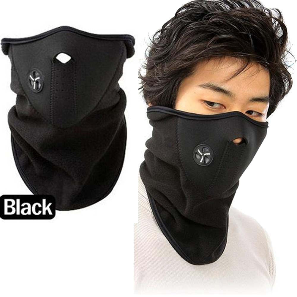 Marks  Fleece Face Mask Winter Ski Snowboard Hood Windproof Neck Warm  Thermal Scarf