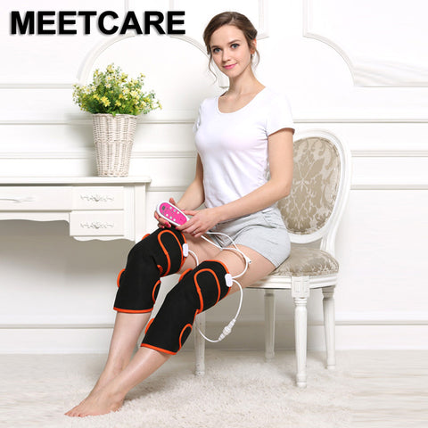 Electric Heating Multifunction Knee Massage Pain Relief Vibration Massager Muscle Stimulator Magnetic Therapy Rheumatism Health
