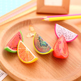 1 x novelty Fruit plastic pencil sharpener pencil cutter knife korean stationery school supplies papelaria - Blobimports.com