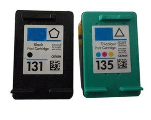 1Set for HP 131 135 ink cartridge for HP 460 5743 5940 5943 6940 Photosmart 2573 2613 8753 PSC 1600 1613 2350 2355 printer ink