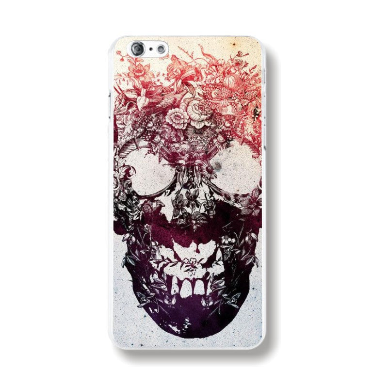 6s Halloween Phone Cases for iPhone 6 Various Diablo Style Skeleton Pattern Color Painted Phone Cases