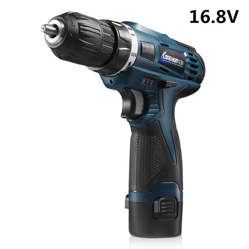 16.8V power Tools Multifunction Rechargeable Lithium Battery Torque Electric Drill bit cordless Electric Screwdriver  tool