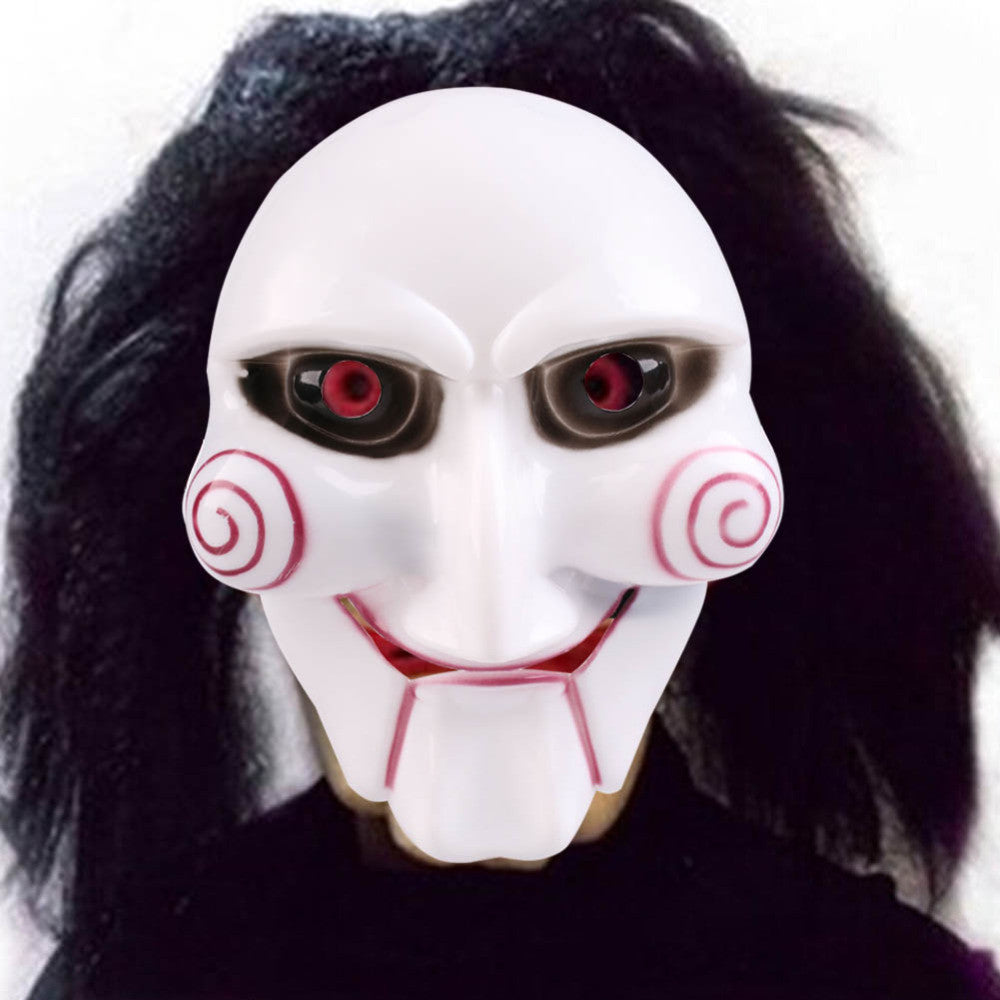 High Quality Saw Mask Chainsaw Killer Theme Jigsaw Puppet Masks for Halloween,Cosplay,Festival,Christmas,Masquerade