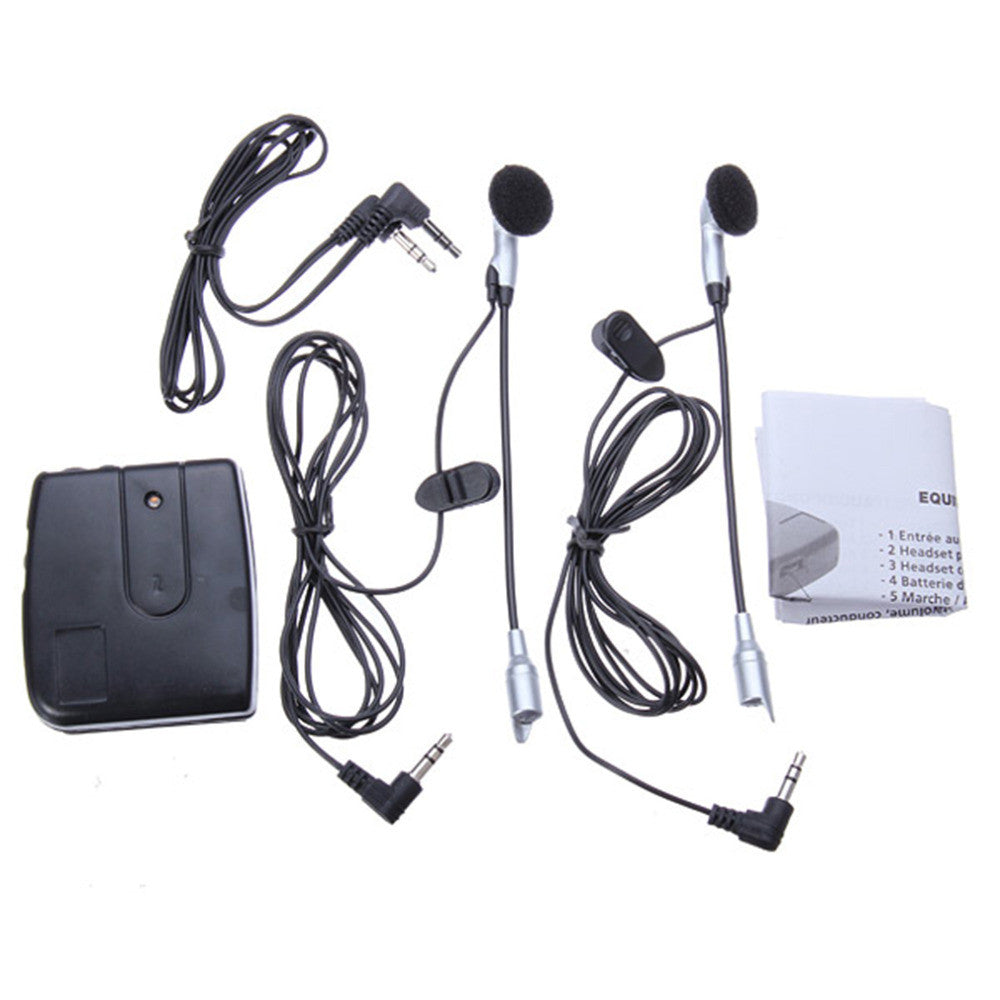 New Motorbike Motorcycle Helmet Headset 2 way Intercom Communication System Motorcycle intercom Motorcycle Helmet Interphone