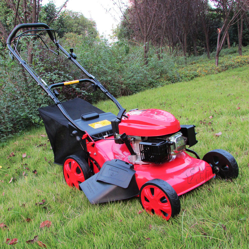 18 -inch 5 -horsepower self-propelled mower gasoline four-stroke lawn push lawnmower Lawn Mower