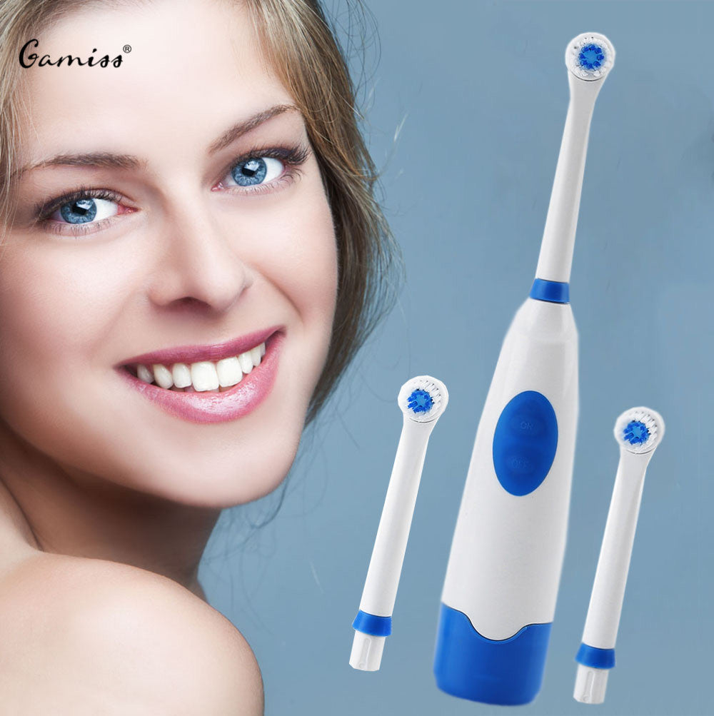 Oral Dental Care Electric Toothbrush Pro Charge Electric Toothbrush For Kids Safe Electric Toothbrush With 2 Soft Brush Heads
