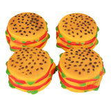 Amazing New Pet Supplies Wholesale Pet Dog Toy Burger Super Realistic Chew Toys For Dogs