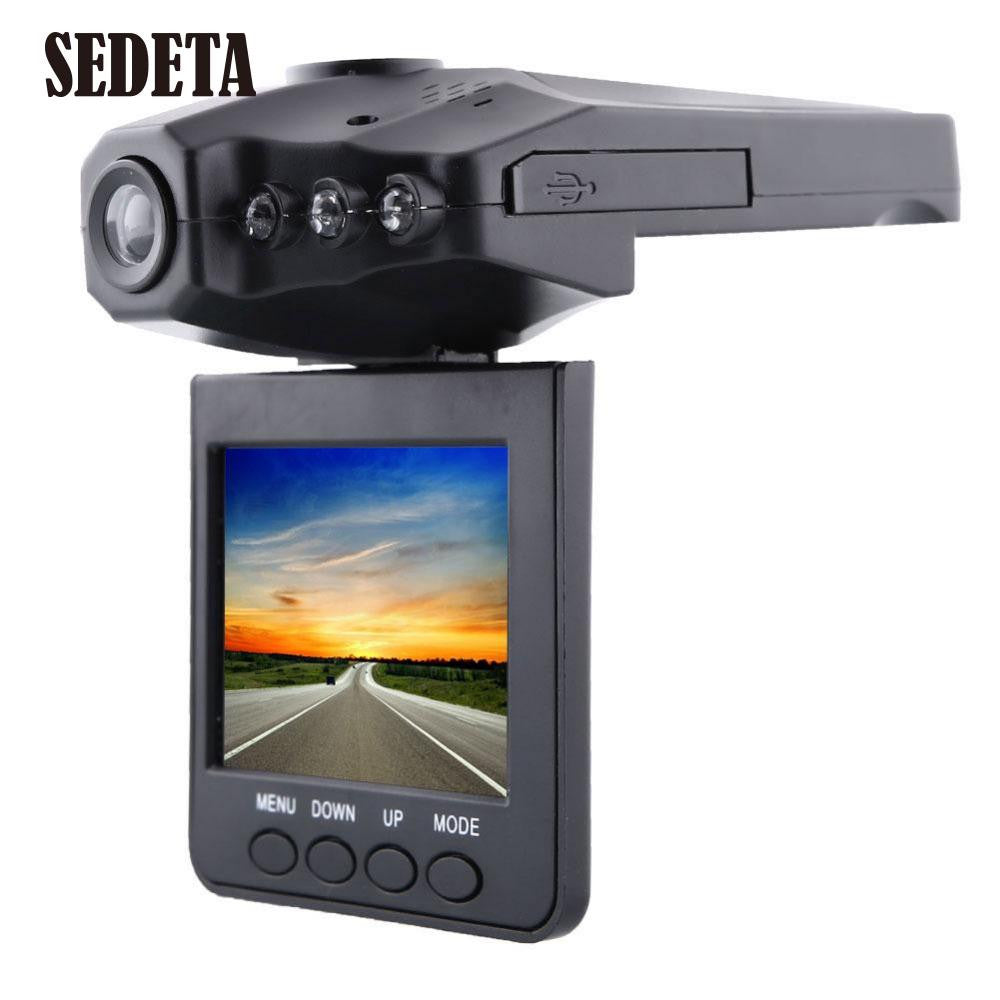 "6LED 2.5"" TFT 270 degrees rotation angle HD Car dvr Car Camera  Camcorder car-detector Night Vision Rechargeable Battery"