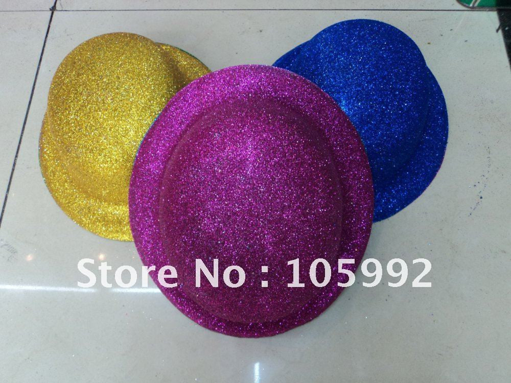 8 color Gold Dust The Skullcaps Dance Supplies Party Hat Halloween Gifts,Mix color