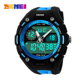 Men Sports Watches Male Fashion Watch Casual Quartz Clock Dive Digital Waterproof Military Wristwatches Relogio Masculino SKMEI