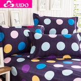 You Duo Bedclothes 2 Pieces Striped Pillow Case Bed Pillow Cover 48*74 cm KP001