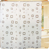 Toilet Thicken Waterproof Shower Curtain Household Mildew Bath Curtain Translucent Hanging Curtain Shower Room Articles Parts