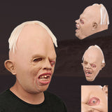 Hot Sale Cosplay Party mascaras de latex realista Scary Horror Full Face Mask Terrible Weirdo Mask for Masquerade Party