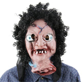 2016 Mascaras Halloween Payday Scary Masquerade Masks Halloween Party Latex Mask Head Headgear Broken Face Doll