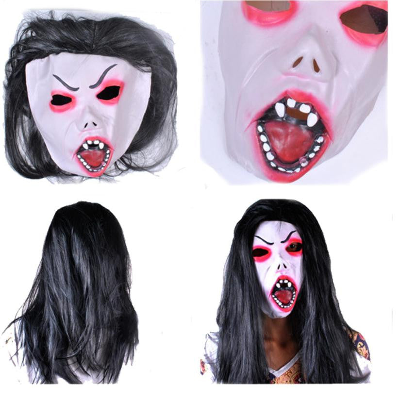 New Mascaras Halloween Theater Scary Masquerade Masks Halloween Party Latex Mask Head Halloween Party Decoration Supplies Hot