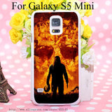 Michael Myers Hard White Cover Case for Galaxy S3 S3 mini S4 S4 Mini S5 S5 Mini S6 S6 edge