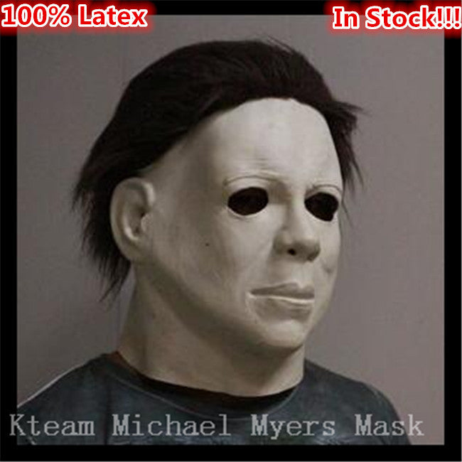 Hot Selling Halloween Carniaval Character Scary Movie Theme Face Mask Movie Cosplay Latex Michael Myers Mask Full Face Head Mask