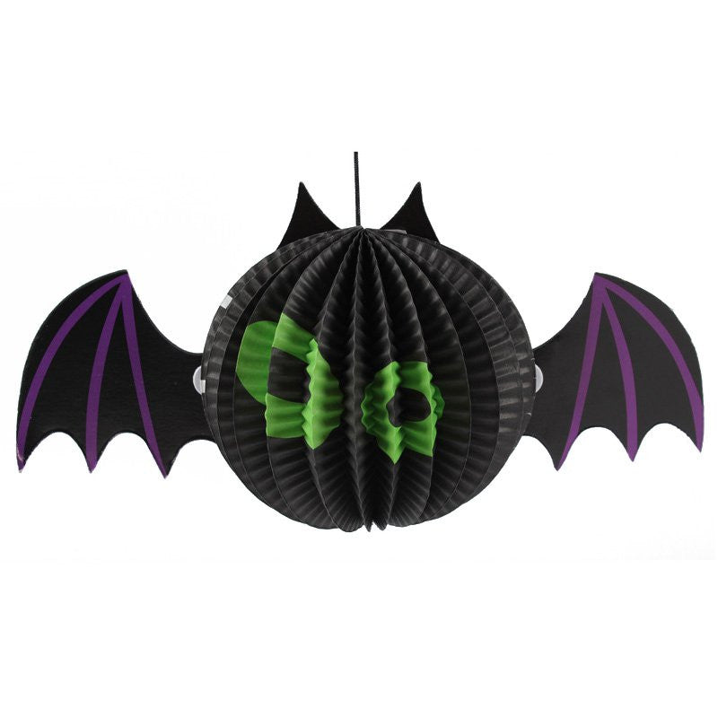 Halloween Supplies Decorative Props Bar KTV Ghost Witch Spider Bats Charm Strap Perspective Lantern Free Shipping