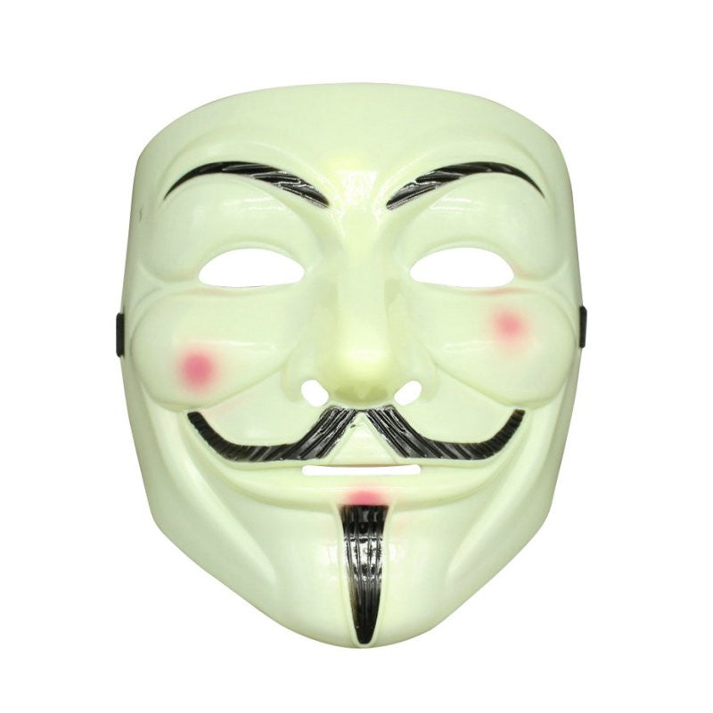 Smartoy V For Vendetta Mask Guy Fawkes Halloween Masquerade Prop Party Face