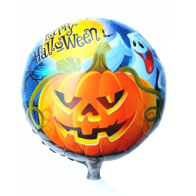 New Arrival light Quality Halloween Pumpkin Head Balloons Happy Party Home Decorations Props Foil Balloons Wholesale