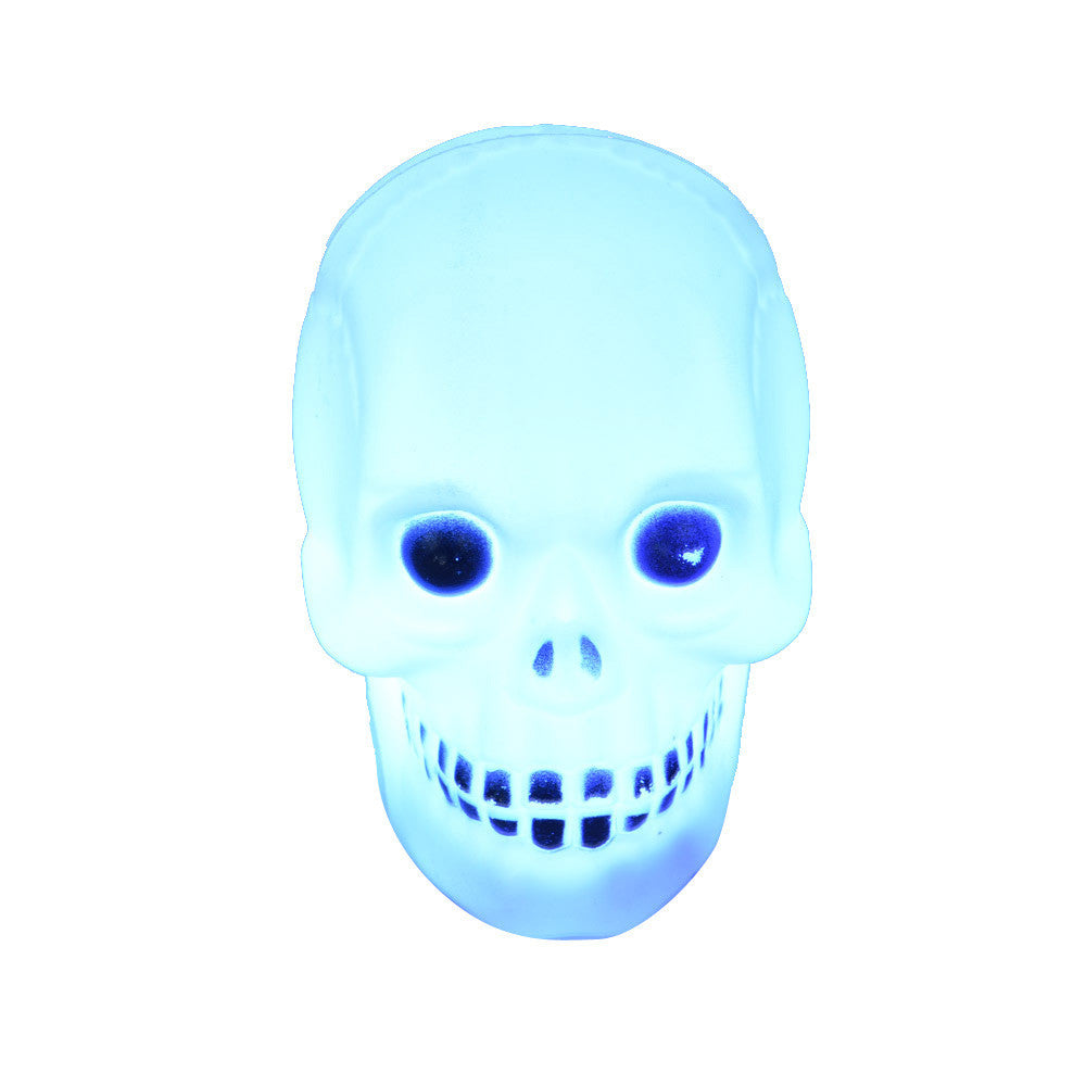 Halloween Skull  Party Lantern Decoration Props LED Light blue Produce Scary Atmosphere