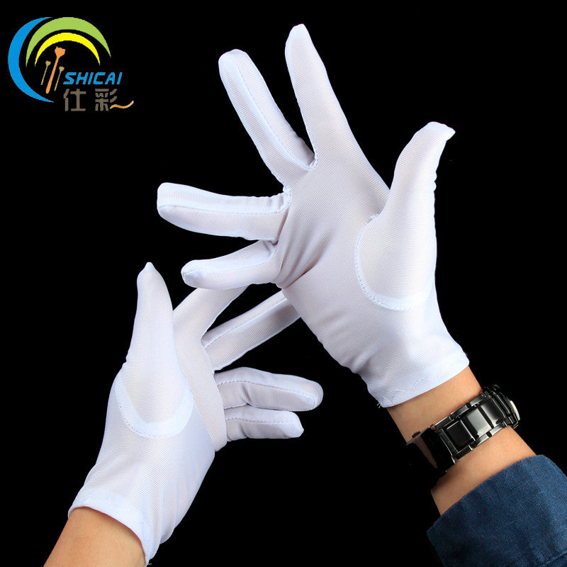 White gloves gloves performing magic props Adults Children Christmas Halloween dress gloves for men and women
