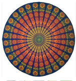 New Summer Large Microfiber Printed Round Beach Towels Circle Beach Towel Serviette De Plage Free shipping