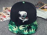 2015 New Fashion Weed Snapback Caps Hats Hip Hop Baseball Cap Strapback for Men Women Bone Aba Reta Gorras Homme Casquette