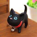 Cute Style Animal Vinyl Toy Lovely Cute Cat Kitten Keychain Gift for friends kids