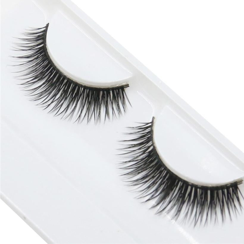 Jimshop 1 Pairs Fashion Natural Handmade Beauty Dense False Eyelashes Beauty Dense Eyelashes Free Shipping Lowest Price