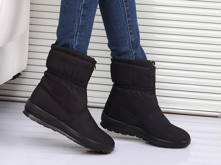 snow boots 2016  Winter brand  warm non-slip waterproof women boots mother shoes casual cotton winter  autumn boots femal shoes