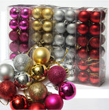 24pcs/ lot Christmas Tree Decor Ball Bauble Hanging Xmas Party Ornament decorations for Home New~GS622-GS626