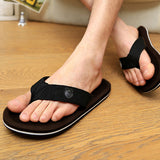2016 New Arrival Fashion Summer Style Beckham Male Korean Tide Slippers Men's Fashion Sandals Thong Casual Sandals Slip O080