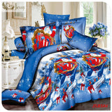HOT!  christmas bedding sets for adult bed linen with fitted sheet  bed sheets kids christmas gift bedding set  queen king size
