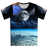 New 2016 Summer Women/Men 3D T Shirt Galaxy/Planet/lightning/Pills/weeds/flag/Cartoon Print T-Shirt Short Sleeve Casual Tee Tops