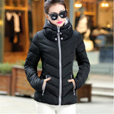 2016 New Fashion Down & Parkas Warm Winter Coat Women Light Thick Winter Plus Size Hooded Jacket Female Femme Outerwear C1728