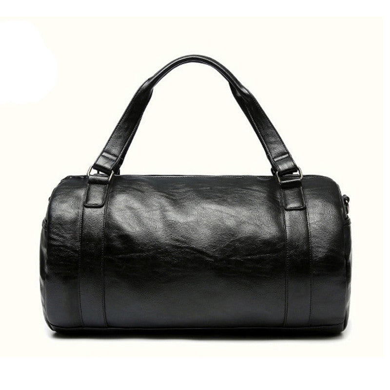 CONTACT'S High Quality Men Travel Bag Leather Fashion Male Handbag Vintage Shoulder Bag Brands Men Messenger Duffel Bag