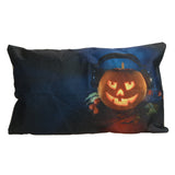 Throw Pillow Cover Halloween Linen Cotton Blended Throw Pillow Case Home Textile Car Seat Chair Sofa Waist Cushion Cover