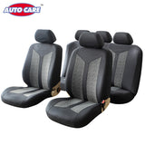 AutoCare 4pcs 6pcs 9pcs 3 Choices Easy Fit Car Seat Covers Grey Color Latest Fashion Style Provides Protection For your seat