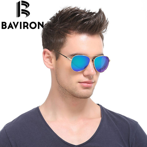 24637591e8 New BAVIRON Polarized Sunglasses Women Sun Glasses Men Polaroid Glasses  Mirror Plastic Sunglasses Gafas Oculos De ...