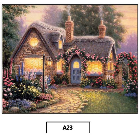 30X40CM DIY 5D Diamond Painting Resin Diamond Embroidery Stitch Kit Home Decor
